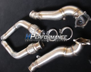 HPerformance 4.0 TFSI Downpipes RS6 / S6 / S7 / RS7 / S8 2x90mm