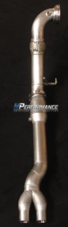 HPerformance 90mm Downpipe einflutig RS3 8V